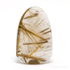 Golden Rutilated Quartz Polished Crystal from Novo Horizonte, Bahia, Brazil | Venusrox