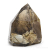 Smoky Elestial Quartz Part Polished/Part Natural Point from Brazil | Venusrox