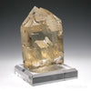 Natural Citrine Cathedral Point from Brazil, mounted on a bespoke stand | Venusrox