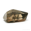 Smoky Rutilated Quartz with Matrix Part Polished/Part Natural Crystal from Brazil | Venusrox