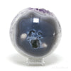AMETHYST WITH AGATE GEODE SPHERE