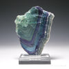 FLUORITE POLISHED/NATURAL SLICE