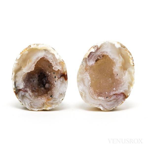 Agate with Quartz Part Polished/Part Natural Geodes from Brazil | Venusrox