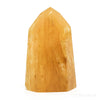 Golden Quartz Polished Point from Brazil | Venusrox