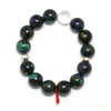 Azurite with Malachite & Matrix Bracelet from Peru | Venusrox