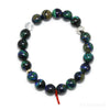 AZURITE WITH MALACHITE & MATRIX BRACELET