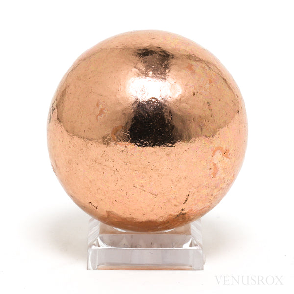 Copper Polished Sphere from the USA | Venusrox