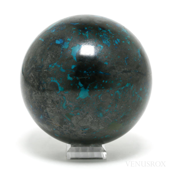 Chrysocolla with Cuprite Polished Sphere from the Democratic Republic of Congo | Venusrox