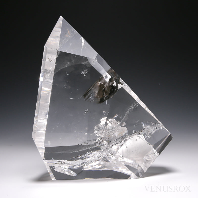 Clear Quartz Polished Crystal from Tocantins, Brazil | Venusrox
