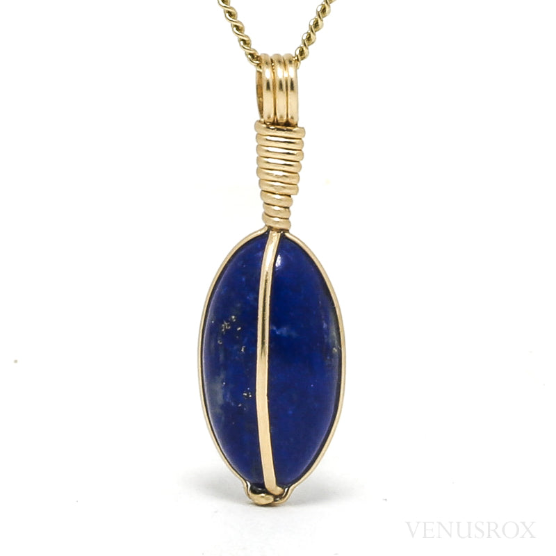 Lapis Lazuli Polished Crystal Pendant from Afghanistan | Venusrox