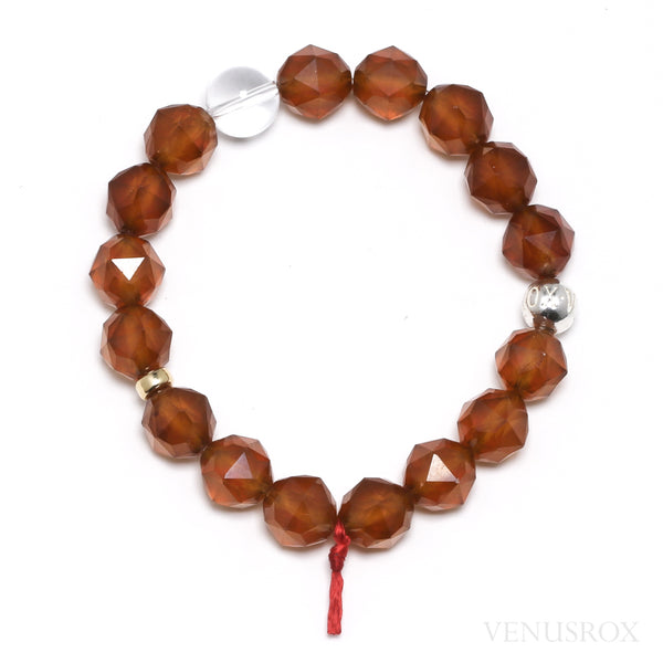 Hessonite Garnet Bead Bracelet from Mozambique | Venusrox