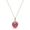 Pink Tourmaline Polished Sphere Pendant from Russia | Venusrox