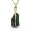 Green Tourmaline Natural Crystal Pendant from Mogok, Burma | Venusrox