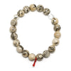 Graphic Feldspar Bead Bracelet from Madagascar | Venusrox