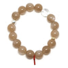 Peach Moonstone Bead Bracelet from India | Venusrox