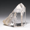 Clear Quartz with Manifester Part Polished/Part Natural Point from Brazil | Venusrox