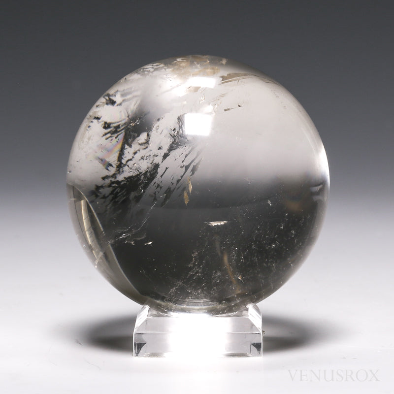 Smoky Phantom Quartz Sphere from Brazil | Venusrox