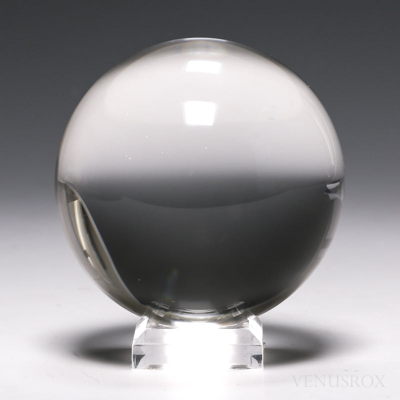 Clear Quartz Polished Sphere from Brazil | Venusrox