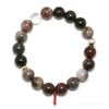 Petrified Wood Bead Bracelet from Indonesia | Venusrox