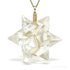 Natural Citrine Polished 'Star' Crystal Pendant from Brazil | Venusrox