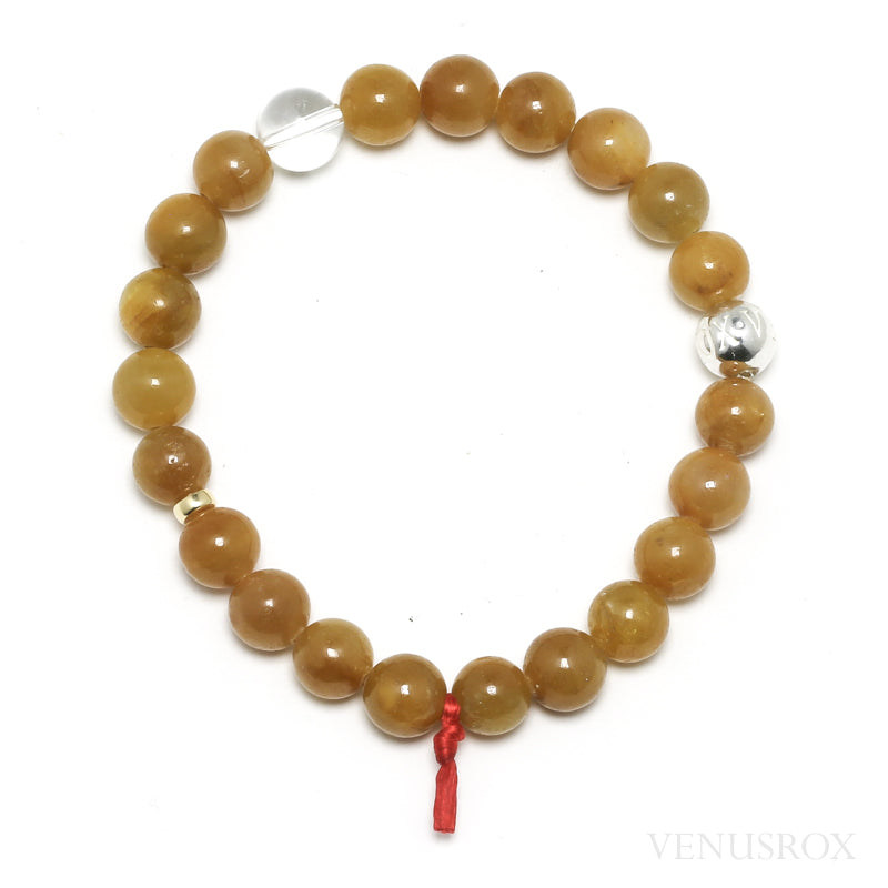 Yellow Sapphire Bead Bracelet from India | Venusrox