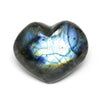 Labradorite Polished Heart from Madagascar | Venusrox