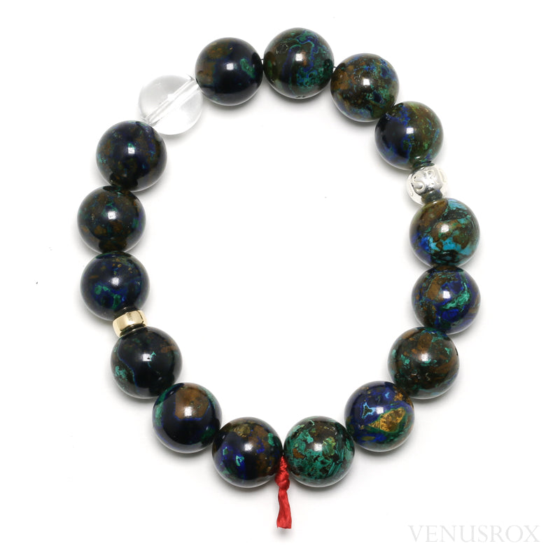 Azurite with Malachite Bracelet from Peru | Venusrox