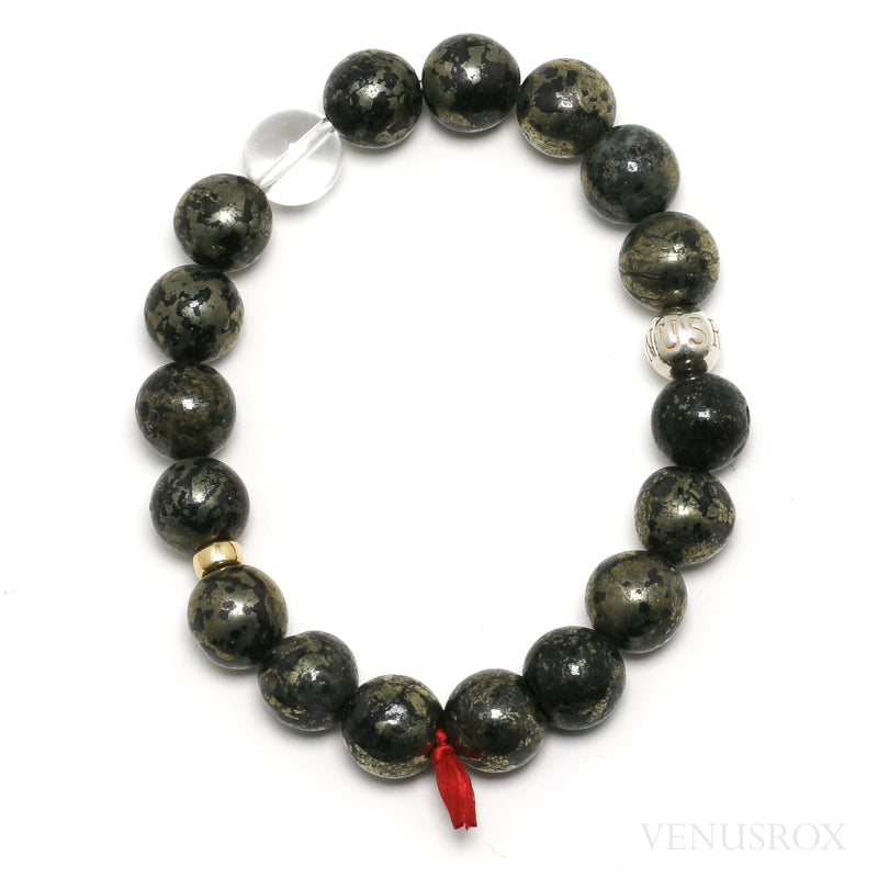 Pyrite Bead Bracelet from China | Venusrox