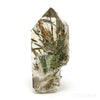 Smoky Quartz with Epidote Part Polished/Part Natural Point from Brazil | Venusrox