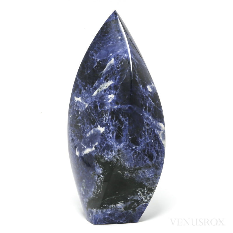 Sodalite Polished 'Flame' from Brazil | Venusrox