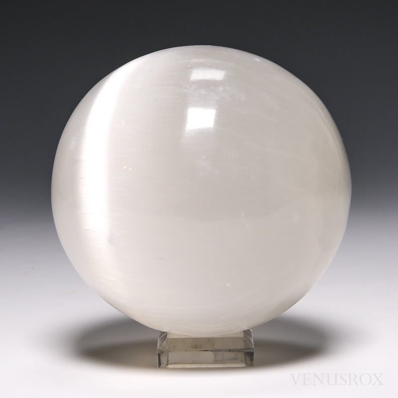 Selenite Polished Sphere From Morocco | Venusrox