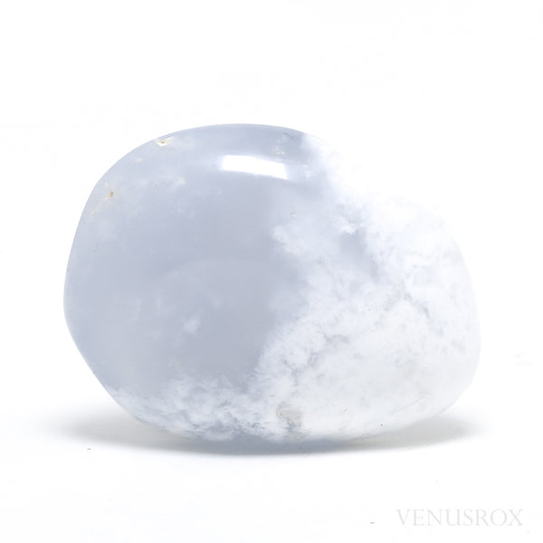 Blue Chalcedony Polished Crystal from Madagascar | Venusrox