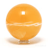 Orange Calcite Polished Sphere from Utah, USA | Venusrox