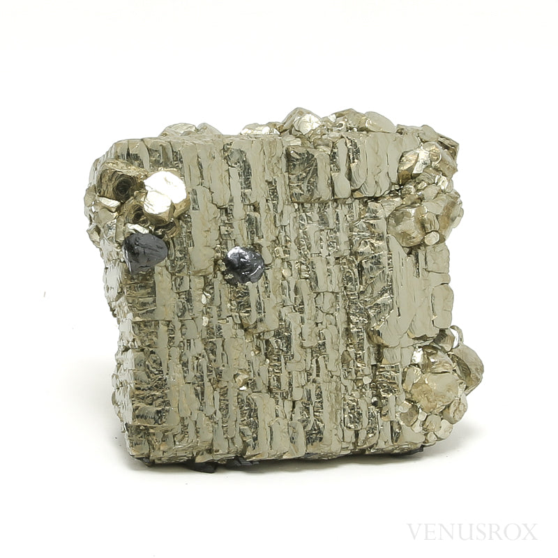 Pyrite with Sphalerite Natural Cluster from the Huanzala Mine, Huallanca District, Dos de Mayo Province, Huánuco Department, Peru | Venusrox