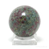 Ruby in Fuchsite and Kyanite Polished Sphere from India | Venusrox