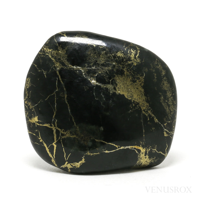 Pyrite with Slate Polished Crystal from Norway | Venusrox