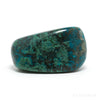 Chrysocolla with Malachite Polished Crystal from Peru | Venusrox