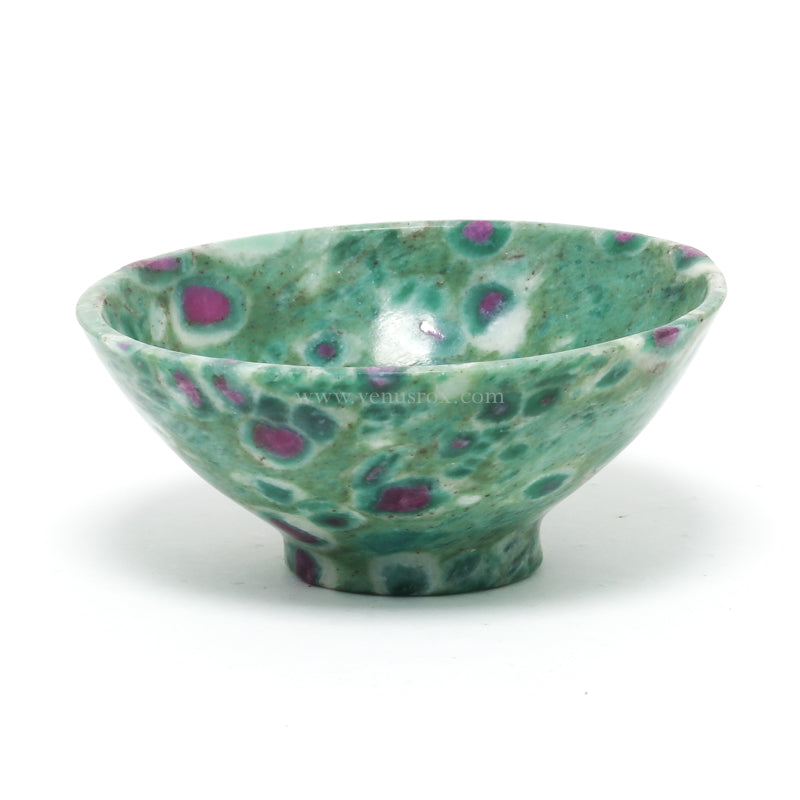 Ruby in Fuchsite Polished Bowl from India | Venusrox