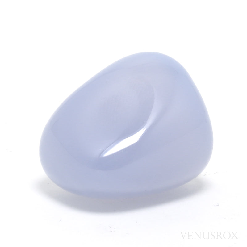 Blue Chalcedony Polished Crystal from West Anatolia, Turkey | Venusrox