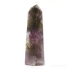 Amethyst with Cacoxenite Polished Point from Brazil | Venusrox