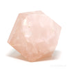 Rose Quartz Polished Geometric Crystal from Brazil | Venusrox