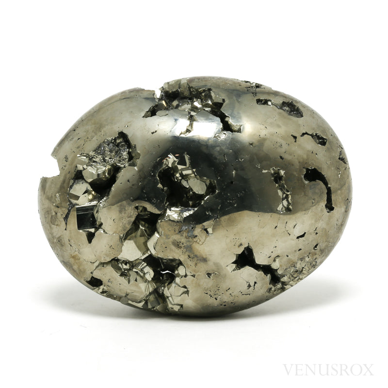 Pyrite Geode Polished Crystal from Peru | Venusrox