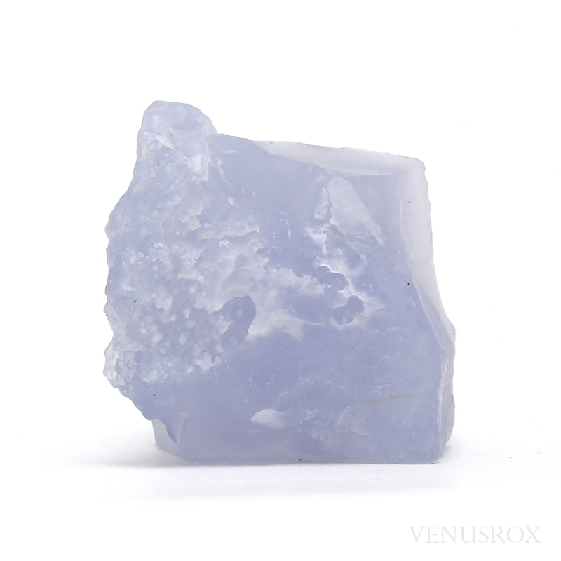 Blue Chalcedony Natural Crystal from Chikwawa, Malawi | Venusrox