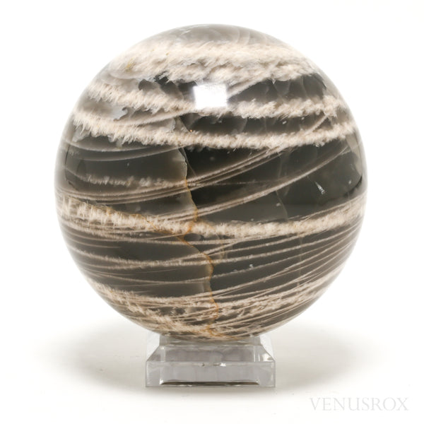 Black Moonstone Polished Sphere from India | Venusrox