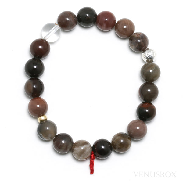 Petrified Wood Bead Bracelet from the USA | Venusrox