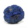Azurite Part Polished/Part Natural Half Nodule Crystal from the Rubtsovsky Mine, Altaiskiy Krai, Russia | Venusrox