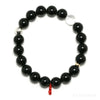 Black Tourmaline Bead Bracelet from Brazil | Venusrox