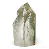 Chlorite Phantom Quartz Polished/Natural Point from Brazil | Venusrox