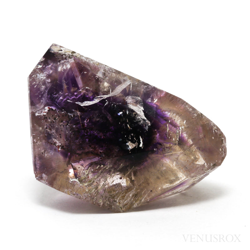Amethyst Phantom Elestial Polished Point from Tamil Nadu, India | Venusrox