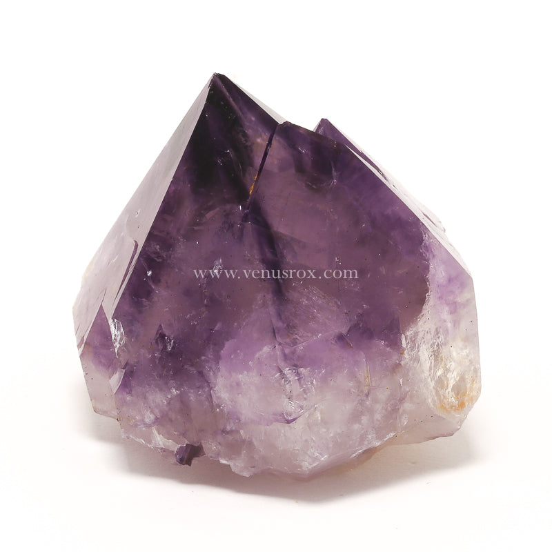 Natural Amethyst Spirit Quartz Crystal from Mpumalanga, South Africa | Venusrox